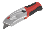 Sealey AK8603 Retractable Utility Knife Quick Change Blade